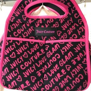 Juicy Couture insulated lunch bag
